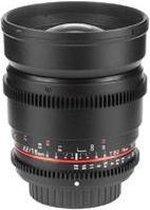 Samyang 16mm T2.2 ED AS UMC CS VDSLR - Prime lens - geschikt voor Sony A