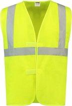 Tricorp 453003 Veiligheidsvest ISO20471 Fluor Geel maat XL