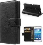 Samsung Galaxy Trend Plus S7580 Portemonnee Hoesje Case Zwart