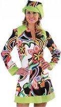 Hippie/Sixties jurk dames 38 (m)