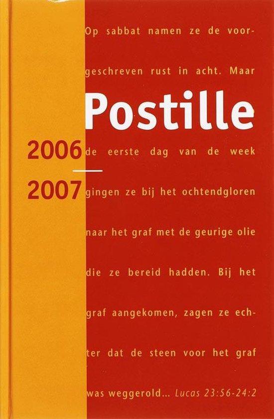 Postille 58 (2006-2007) - Auteurs Meerdere  