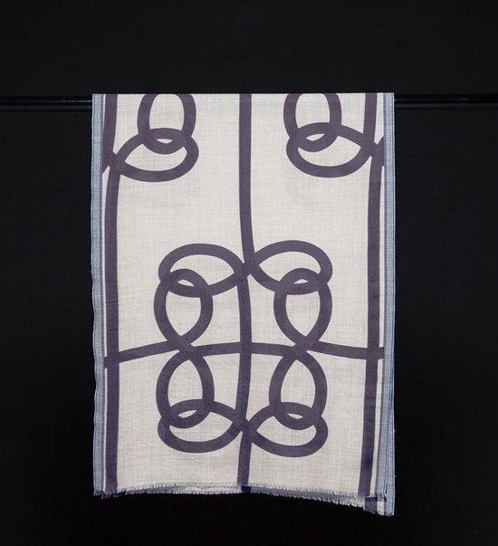 Jacob and Jacoba Birdsnest 100% wollen shawl.