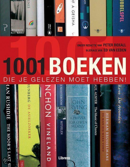 Cover van het boek '1001 boeken die je gelezen moet hebben!' van Peter Boxall