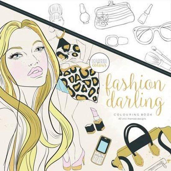 Kaisercraft Kleurboek voor Volwassenen - Fashion Darling - Kaisercraft |