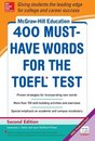 Boek cover McGraw-Hill Education 400 Must-Have Words for the TOEFL, 2nd Edition van Lynn Stafford-Yilmaz