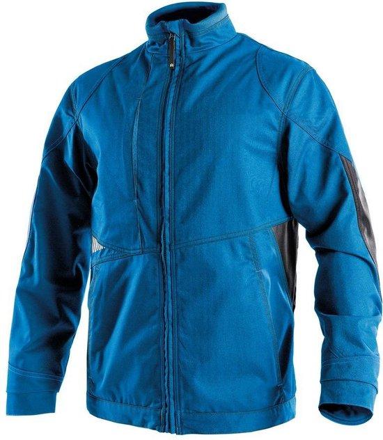 Dassy Profesional Workwear Tweekleurige Werkvest - Atom Azuurblauw/antracietgrijs - Mt Xl