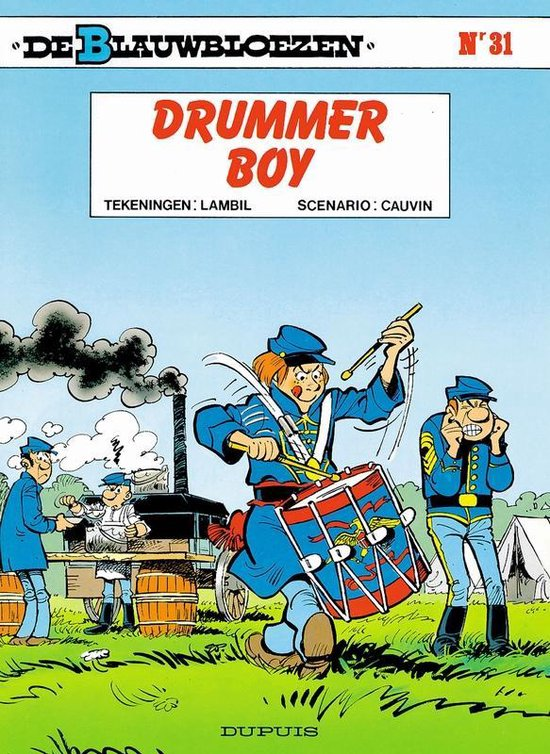 Blauwbloezen 31. drummer boy - Willy Lambil pdf epub