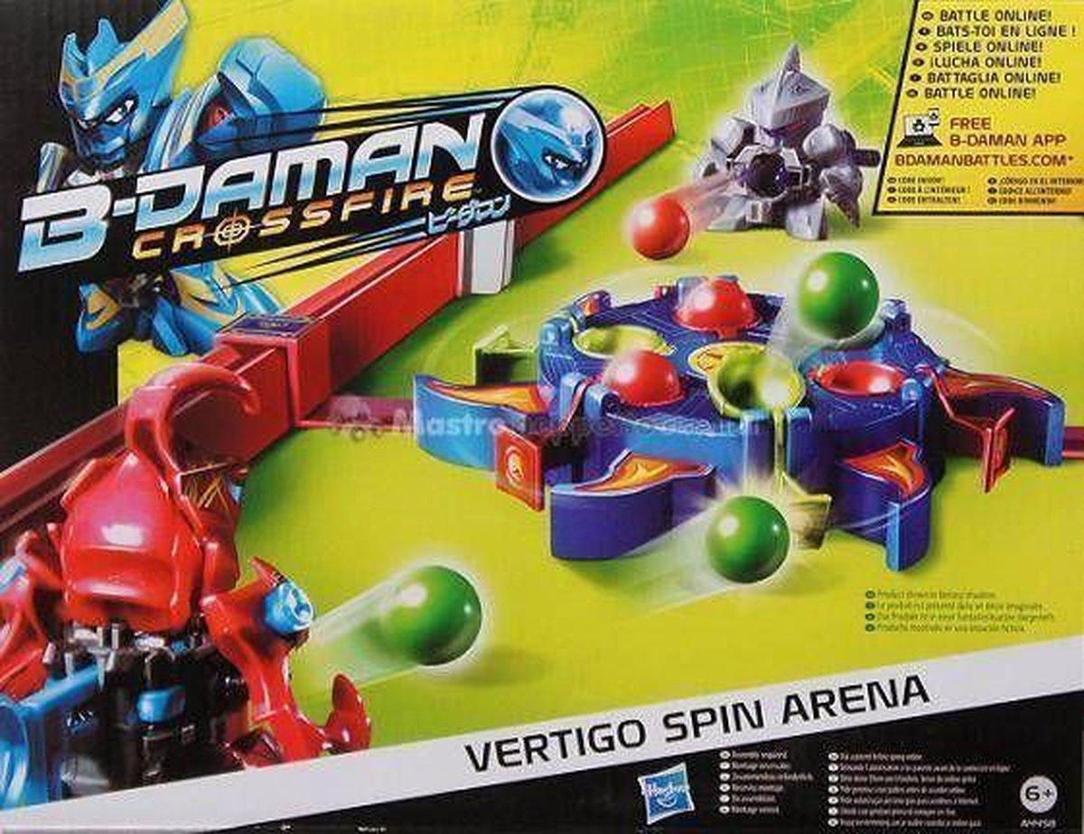 B-Daman Crossfire Vertigo Spin Arena Set