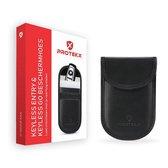 PROTEKX - Autosleutel RFID anti-diefstal beschermhoes - Voor auto's & motoren met Keyless Entry en Keyless Go - Zwart