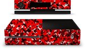 Xbox One Console Skin Camouflage Rood