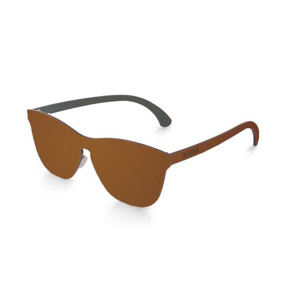 Ocean Sunglasses - LA MISSION - Unisex Zonnebril Bruin - Ocean Sunglasses