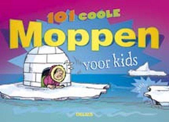 Cover van het boek '101 coole moppen voor kids' van Jolanda Jager