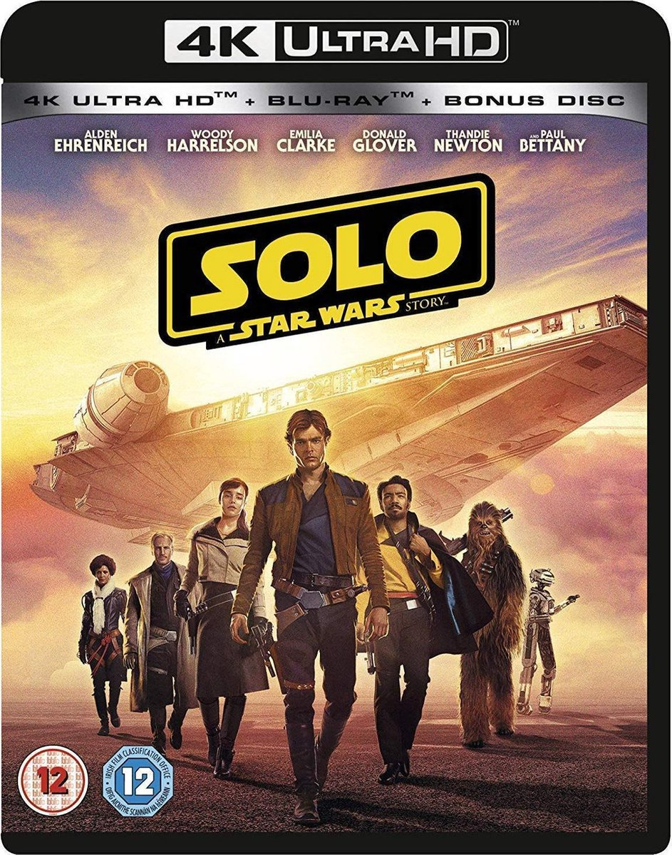 Solo - A Star Wars Story (4K UHD + blu-ray) (Import zonder NL)-