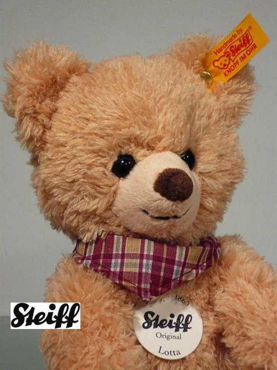 Thumbnail van een extra afbeelding van het spel Steiff 022951 TEDDYBEER LOTTA - 24 cm