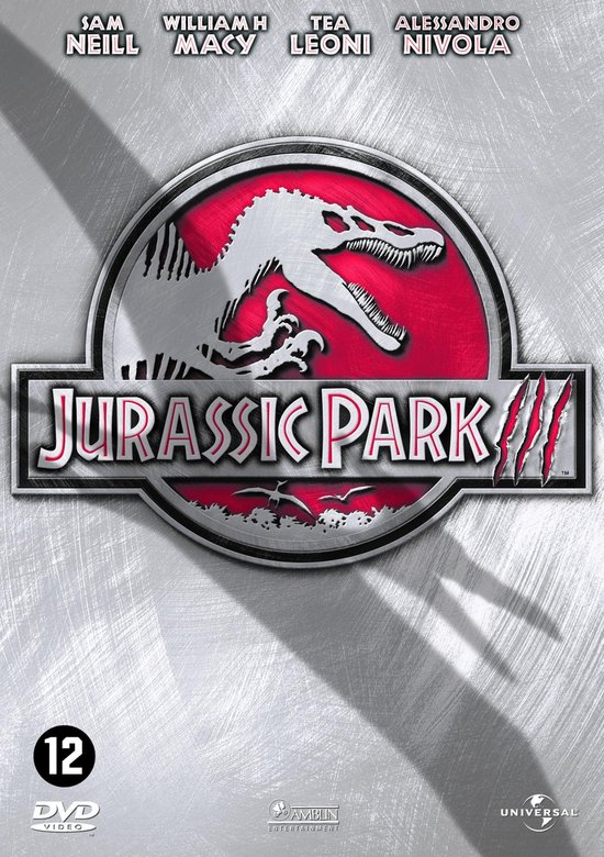 Cover van de film 'Jurassic Park 3'