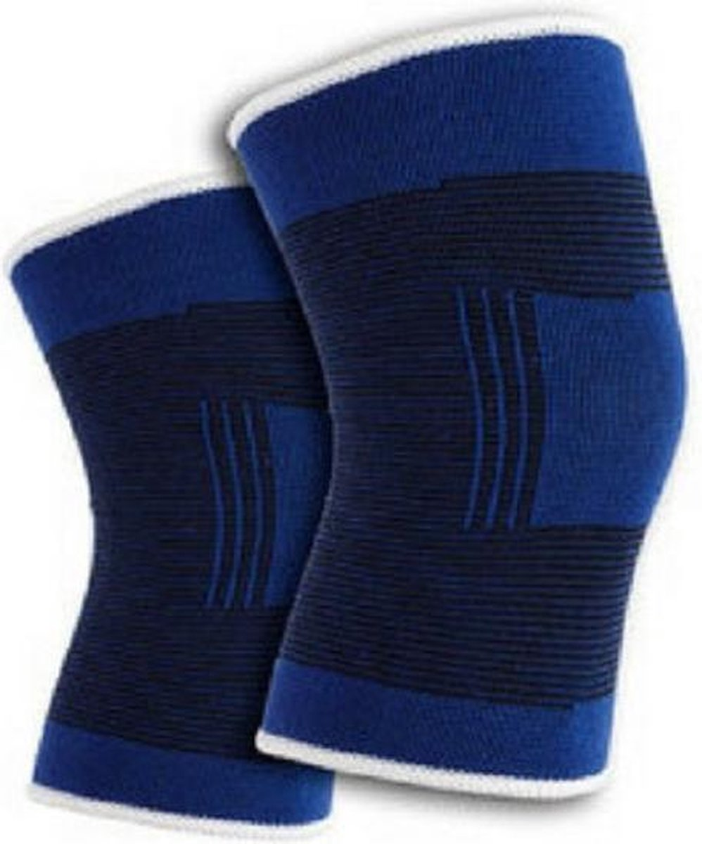 Knieband - Blauw - Knie ondersteuning - Kniebanden
