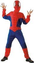 Spinnenheld Spiderman pakje kostuum maat M - 120/130