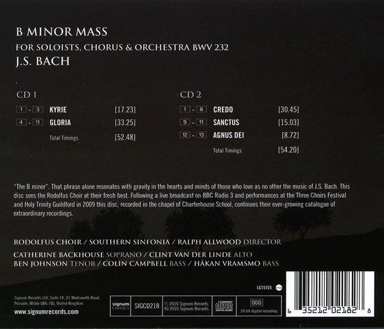 B Minor Mass