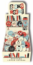 Books Rock, too! Buttons