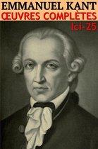 Emmanuel Kant - Oeuvres complètes