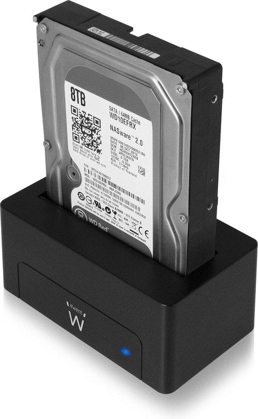 Ewent Dockingstation Docking station voor 2.5 en 3.5 inch SATA HDD/SSD SuperSpeed USB 3.1