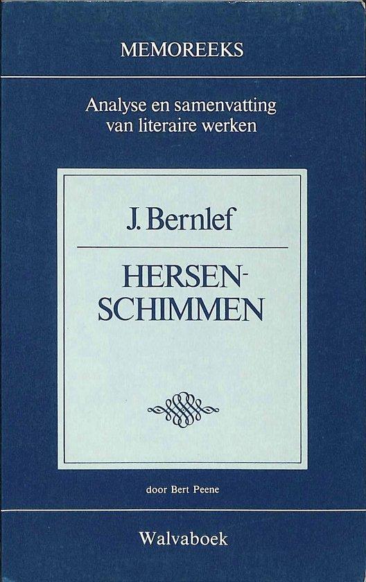 Memoreeks: J. Bernlef - Hersenschimmen - Peene |