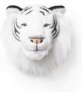 Wild&Soft- Wanddecoratie dierenkop pluche tijger Albert