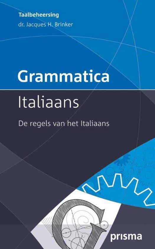 Grammatica Italiaans - Jacques H. Brinker   Fthsonline.com