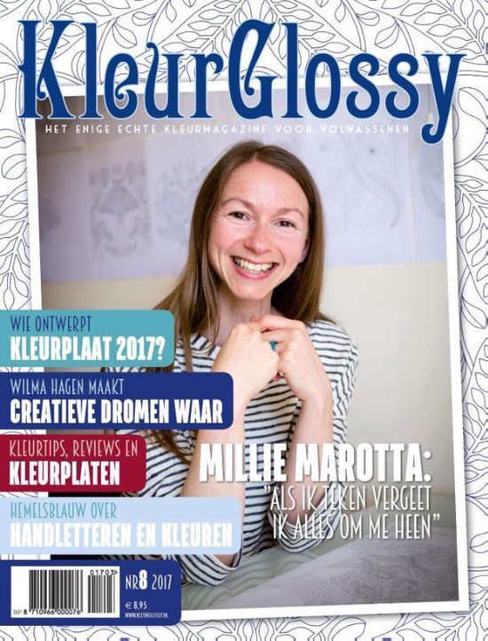 KleurGlossy 8 - Millie Marotta   Readingchampions.org.uk