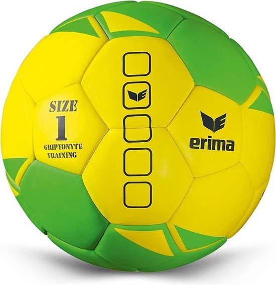 ERIMA Griptonyte Training - Handbal - maat 2 - Geel/Green
