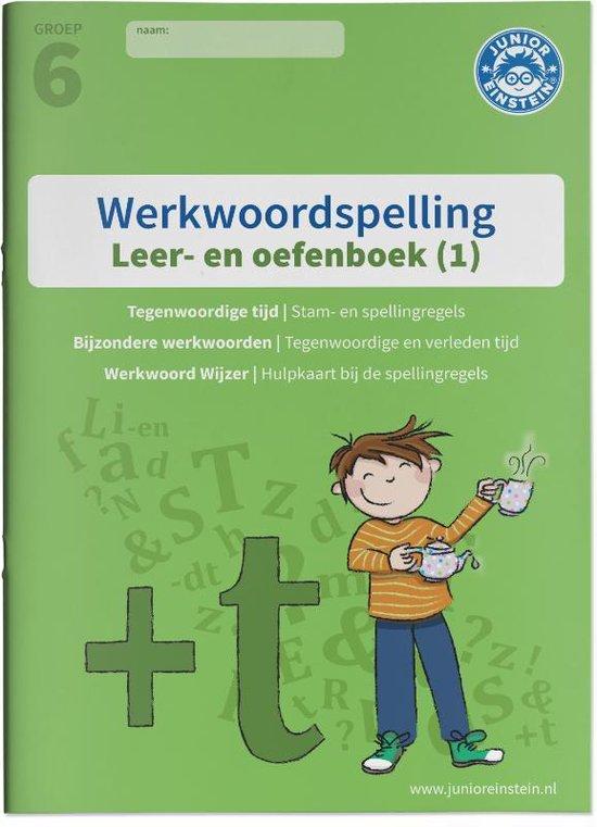 Werkwoordspelling Leer- en Oefenboek groep 6 (1) 1 - De stam, tegenwoordige tijd en bijzonder werkwoorden Gemengde opgaven voor werkwoordspelling - none |