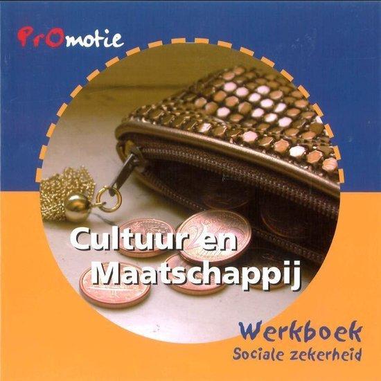 Promotie cultuur en maatschappij Sociale zekerheid Werkboek - Mieke van Wieringen |