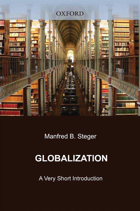Boek cover Globalization: A Very Short Introduction van Manfred B. Steger (Onbekend)