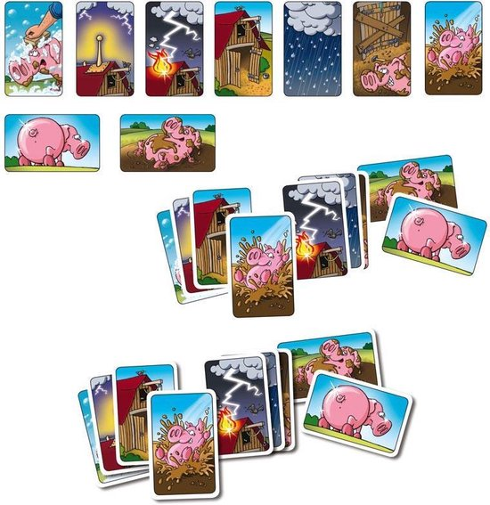 Moddervarkens - Kaartspel