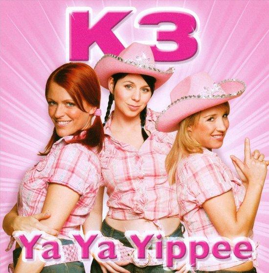 CD cover van Ya Ya Yippee van K3