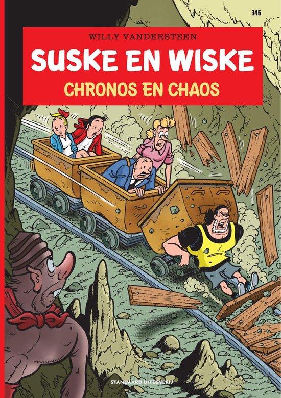 Boek cover Suske en Wiske 346 - Chronos en chaos van Luc Morjaeu (Paperback)