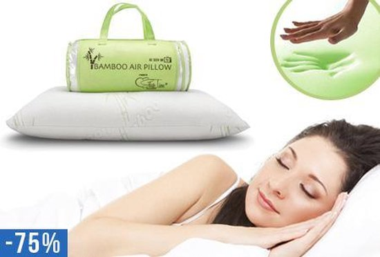 Bamboo Air Pillow - 42 x 55 cm