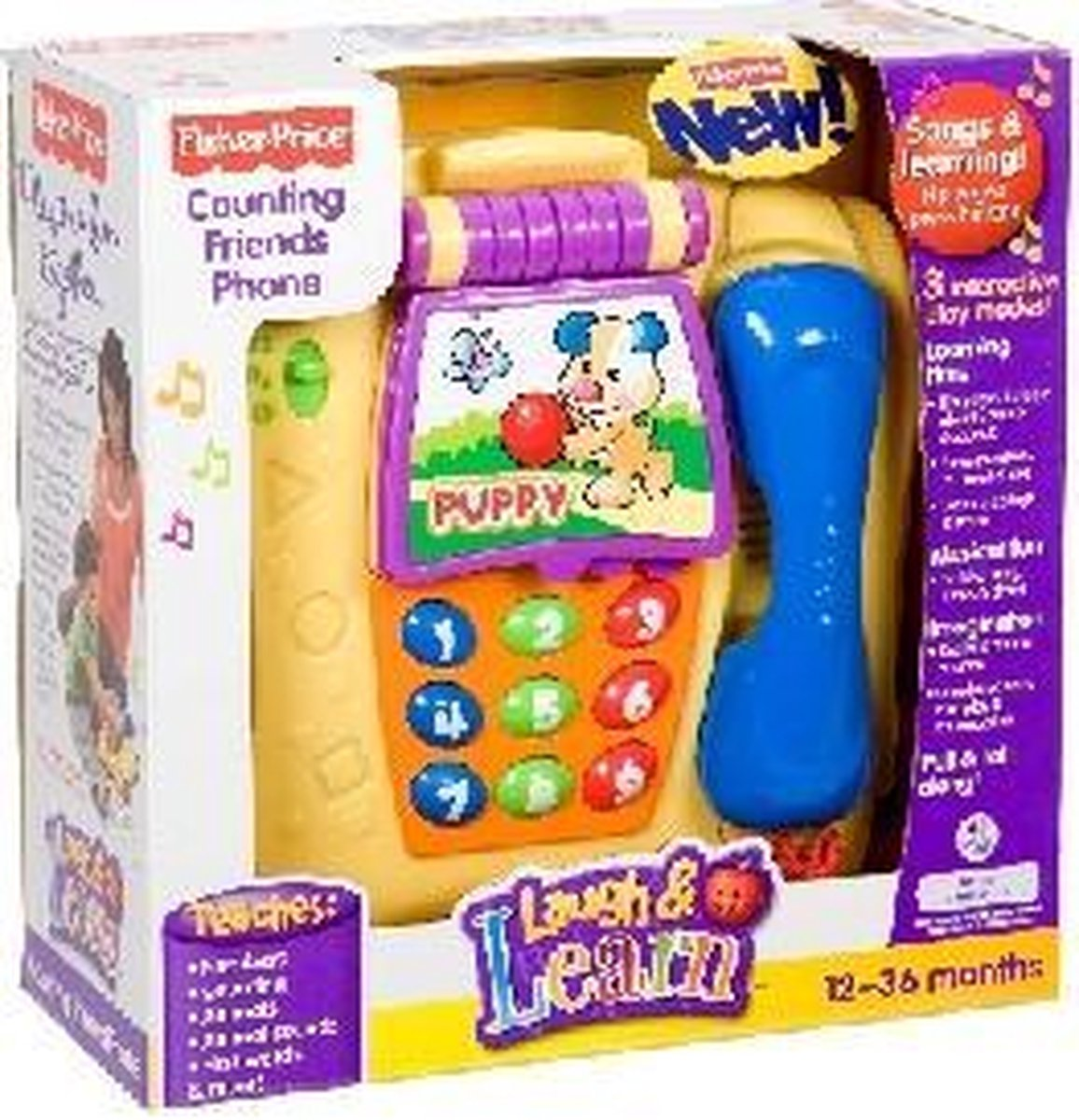 Fisher Price Counting Friends Telefoon