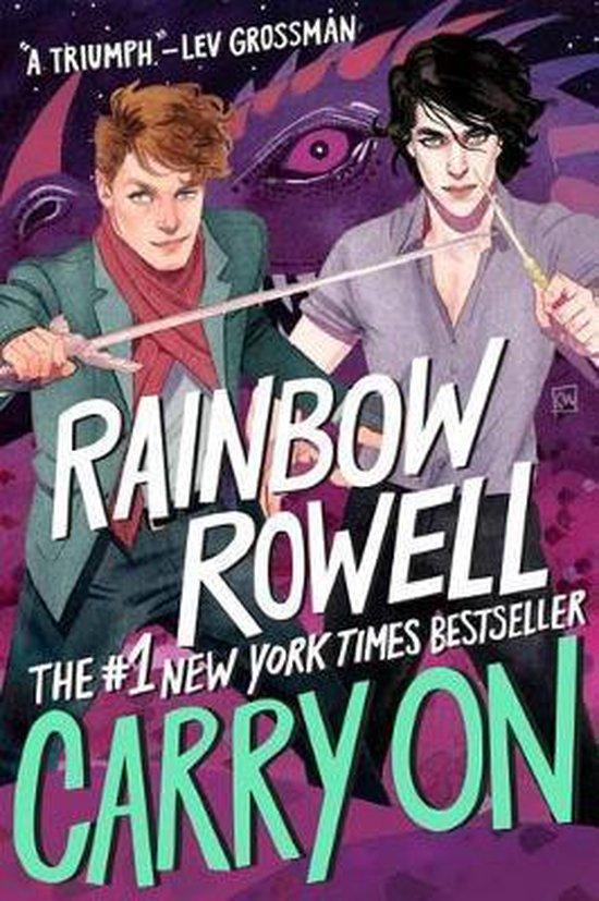 Boek cover Carry on van Rainbow Rowell (Paperback)