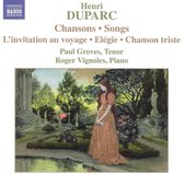 Duparc:Songs For Voice & Piano