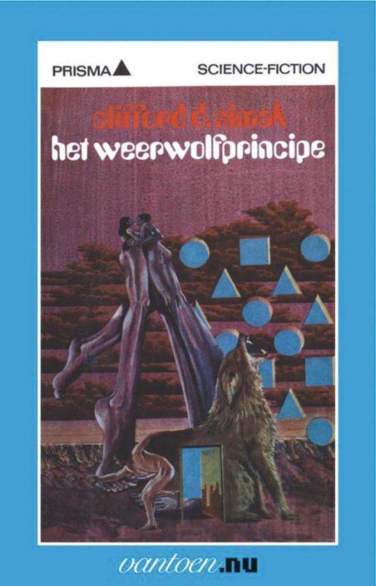 Cover van het boek 'weerwolfprincipe'