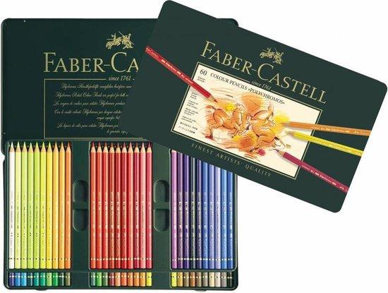 Faber-Castell Polychromos kleurpotlood - 60st. - blik - FC-110060