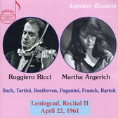 Leningrad, Recital Ii, 1961 - Legendary Treasures