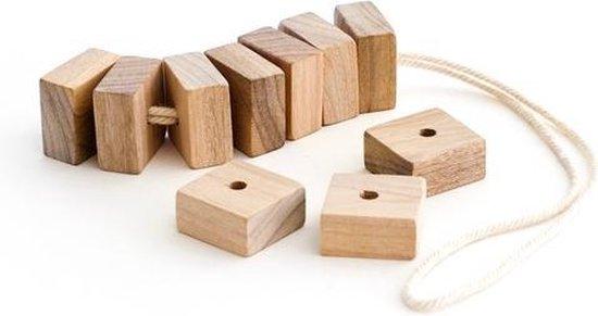 Anti Motten Cederhouten Geurblokjes (10 stuks) met koord