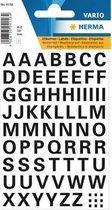 Stickervel letters zwart 10mm 65x
