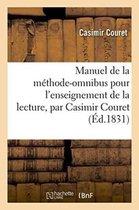 Manuel de la methode-omnibus pour l'enseignement de la lecture