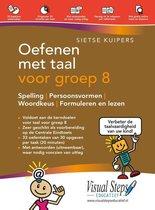 Boek cover Oefenen met taal voor groep 8 van Sietse Kuipers