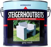 Hermadix Steigerhoutbeits - 2,5 liter - Grey wash