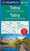 Kompass WK2100 Hoge en Westelijke Tatra, Belaer