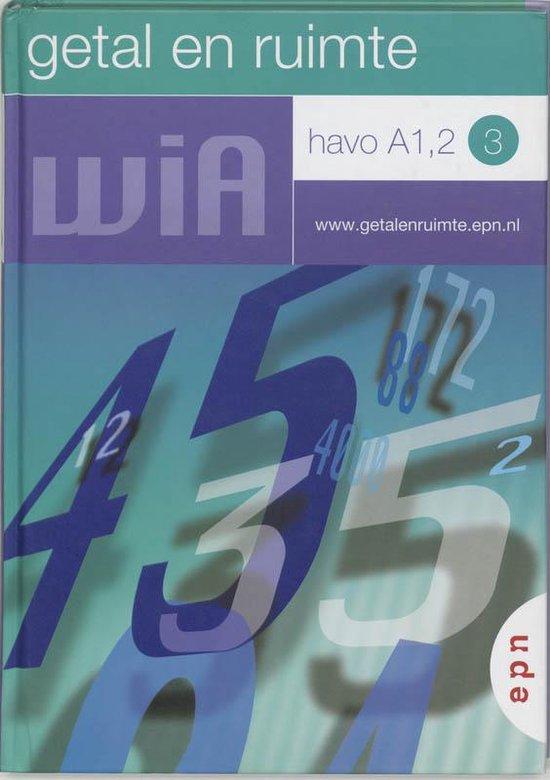 Getal en ruimte / Havo A1, 2 dl 3 / deel Leerlingenboek - L.A. Reichard |
